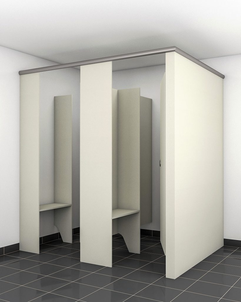 merge shower cubicle