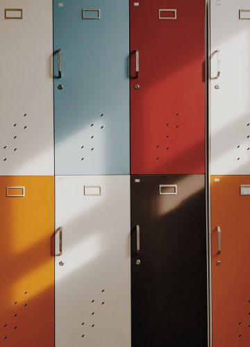 Cubiloc Timber Laminate Lockers