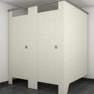 Merge Toilet Partition