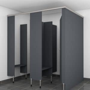 Podium Shower Partition