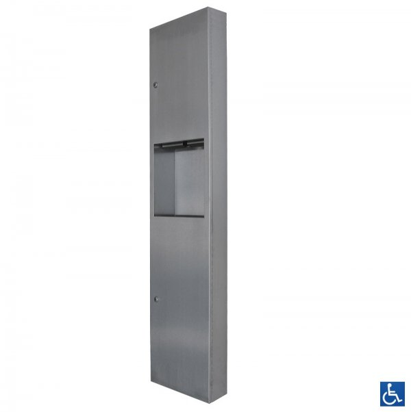 ML706SM & ML707SM Paper Towel Dispenser & Waste Receptacle