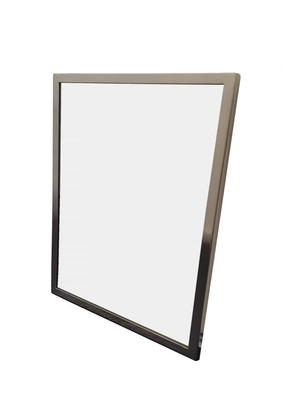 ml771 series stainless steel framed mirror
